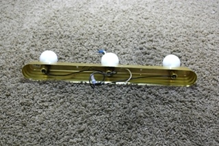 USED VANITY LIGHT BAR RV PARTS FOR SALE