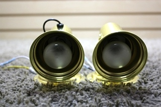 SET OF 2 USED RV INTERIOR READING LIGHTS FOR SALE
