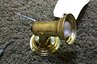 USED MOTORHOME READING LIGHT FIXTURE FOR SALE