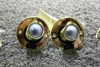 USED SET OF 2 MOTORHOME INTERIOR SWIVEL READING LIGHTS FOR SALE