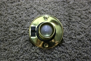 USED RV SWIVEL READING LIGHT FIXTURE FOR SALE