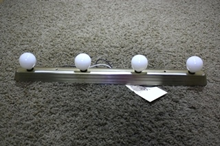 USED MOTORHOME 4 BULB VANITY LIGHT BAR FOR SALE
