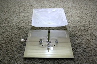 USED MOTORHOME DOME CEILING LIGHT FIXTURE FOR SALE