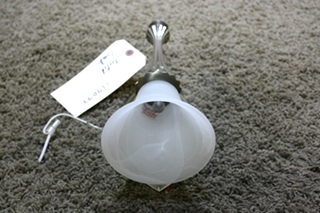 USED RV INTERIOR WALL SCONCE LIGHT FIXTURE FOR SALE