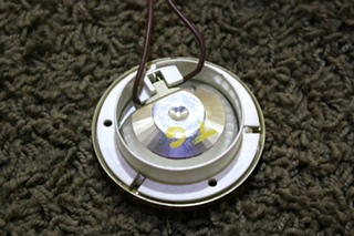 USED RV GOLD PUCK LIGHT FIXTURE FOR SALE