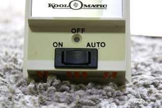 USED KOOL-O-MATIC TD113 MOTORHOME WALL THERMOSTAT FOR SALE