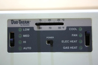 USED DUO-THERM BY DOMETIC 3105356.004 RV WALL THERMOSTAT FOR SALE