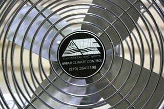 USED SET OF 2 MOTORHOME CHROME DASH FANS FOR SALE