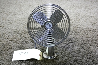 USED RV ROAM CHROME DASH FAN FOR SALE