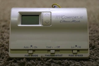 USED RVCOMFORT.AC COLEMAN-MACH 8330-339 RV THERMOSTAT FOR SALE