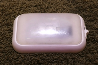 USED RV SINGLE LENS CEILING LIGHT FIXTURE FOR SALE