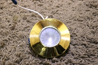 USED MOTORHOME GOLD PUCK LIGHT FOR SALE