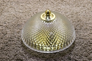 USED INTERIOR DOME RV CEILING LIGHT FIXTURE FOR SALE
