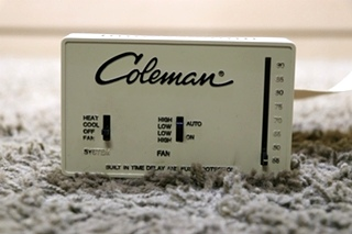 USED RV 7330-335 COLEMAN WALL THERMOSTAT FOR SALE