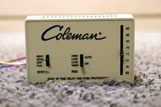 USED RV COLEMAN WALL THERMOSTAT MOTORHOME PARTS FOR SALE