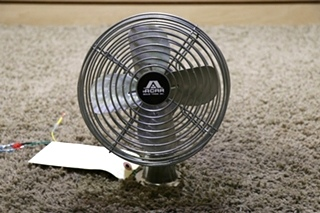 USED ACAR CHROME MOTORHOME TWO SPEED DASH FAN RV PARTS FOR SALE
