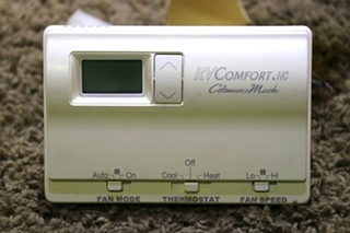 USED RV 8330-337 RVCOMFORT.HC COLEMAN-MACH AH78358 WALL THERMOSTAT MOTORHOME PARTS FOR SALE