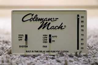 USED MOTORHOME 7330D338 COLEMAN-MACH WALL THERMOSTAT RV PARTS FOR SALE