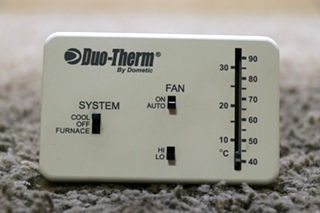 USED 3107612.008 DUO-THERM BY DOMETIC THERMOSTAT RV PARTS FOR SALE