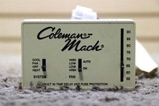 COLEMAN-MACH 7330D337 USED MOTORHOME WALL THERMOSTAT FOR SALE