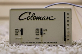 USED MOTORHOME COLEMAN 7330-335 WALL THERMOSTAT FOR SALE
